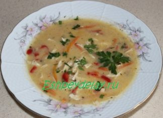 Турецкий куриный суп