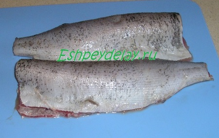 Подготовленная рыба
