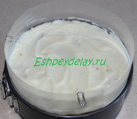 Собранный торт